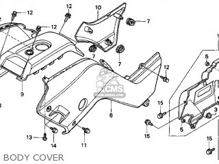 Honda Trx450es Fourtrax Foreman Es 1998 (w) Usa parts list