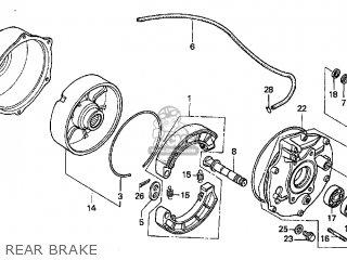 Honda TRX450ES FOURTRAX FOREMAN ES 1998 (W) USA parts