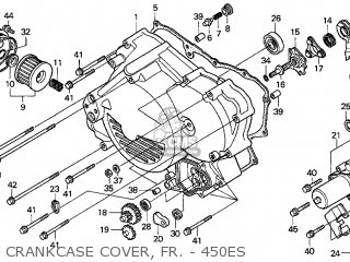 Diagram Of Honda Foreman 450 Es 2001 Honda Recon 250 4x4