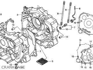 Honda Trx450es Fourtrax Foreman Es 1999 Usa Parts Lists