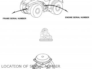 Honda Foreman Vin Location, Honda, Free Engine Image For