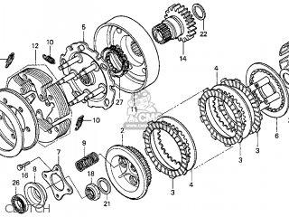 Honda TRX450ES FOURTRAX FOREMAN ES 2000 (Y) USA parts