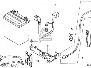 Honda TRX450FE 2002 (2) USA parts lists and schematics