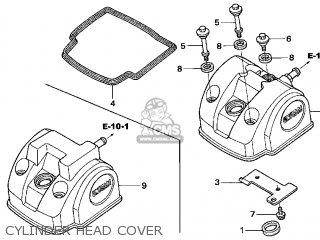 Honda TRX450R 2005 (5) USA parts lists and schematics