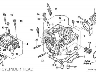 Honda TRX450R FOURTRAX 2005 (5) AUSTRALIA parts lists and