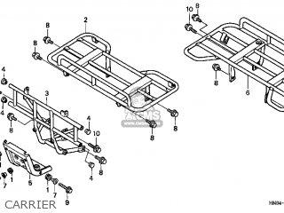 Honda Trx450s 1998 (w) Usa parts list partsmanual partsfiche