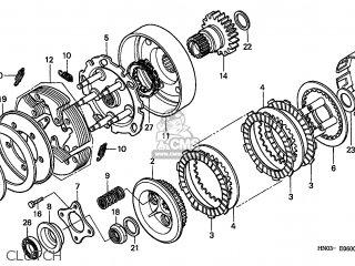 Honda TRX450S FOURTRAX 1999 (X) USA MPH parts lists and