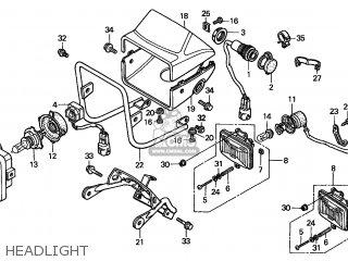 Honda TRX450S FOURTRAX 2000 (Y) AUSTRALIA KPH parts lists