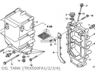 Honda TRX500FA FOURTRAX FOREMAN 2001 (1) CANADA CMF parts