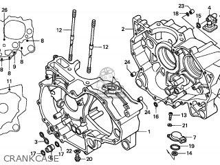 Honda TRX500FA FOURTRAX FOREMAN 2006 (6) AUSTRALIA parts