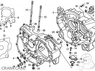 Honda TRX500FA FOURTRAX FOREMAN 2009 (9) AUSTRALIA parts