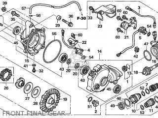 Honda TRX500FE FOURTRAX FOREMAN 2006 (6) AUSTRALIA parts