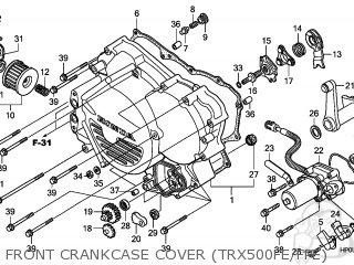 Honda TRX500FE FOURTRAX FOREMAN 2009 (9) AUSTRALIA parts