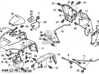 Honda TRX650FA 2003 (3) USA parts lists and schematics