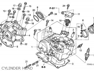 Honda TRX650FA FOURTRAX RINCON 2003 (3) AUSTRALIA parts