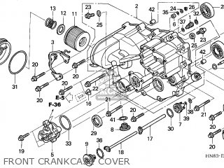 Honda TRX650FA FOURTRAX RINCON 2003 (3) CANADA parts lists