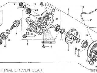 Honda TRX650FA FOURTRAX RINCON 2004 (4) AUSTRALIA parts