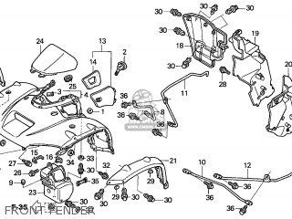 Honda TRX650FA FOURTRAX RINCON 2005 (5) AUSTRALIA parts