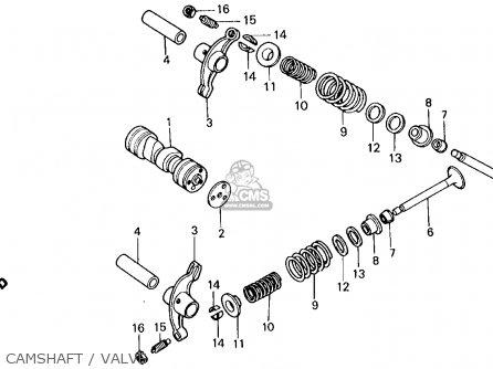 Honda Trx70 Fourtrax 70 1987 Usa parts list partsmanual