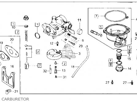 Honda Trx70 Fourtrax 70 1987 Usa parts list partsmanual