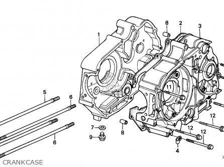 Honda TRX90 FOURTRAX 1996 (T) USA parts lists and schematics