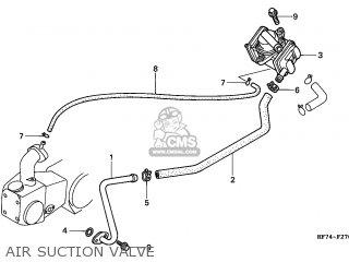 Honda Trx90 Fourtrax 1999 (x) Usa Asv parts list