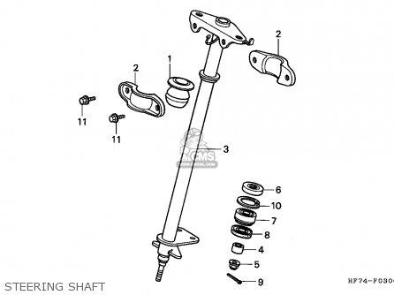 Honda TRX90 FOURTRAX 2000 (Y) USA ASV parts lists and