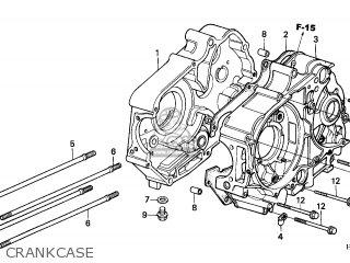 Honda TRX90 FOURTRAX 2002 (2) CANADA REF parts lists and