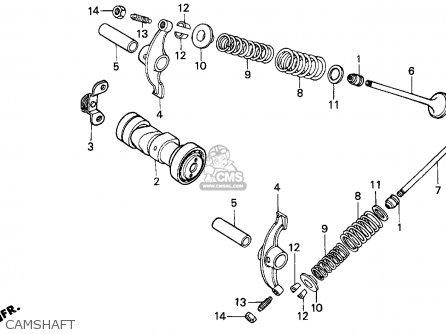 Honda Trx90 Fourtrax 90 1993 (p) Usa parts list