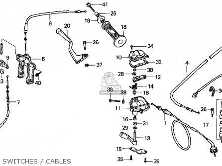 Honda TRX90 FOURTRAX 90 1997 (V) USA parts lists and