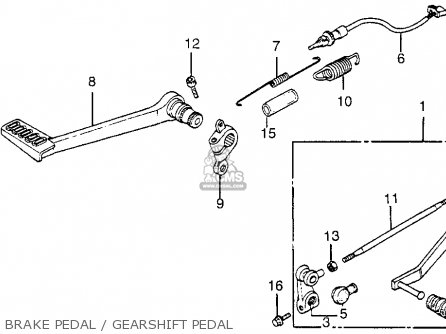 Honda Vf1000f 1984 1000 Interceptor Usa parts list