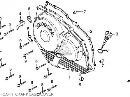 Honda Vf1000f Interceptor 1984 (e) Usa California parts