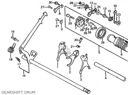 Honda Vf1000r 1985 (f) Usa parts list partsmanual partsfiche