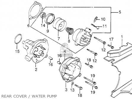 Honda Vf1100c Magna 1984 (e) Usa California parts list