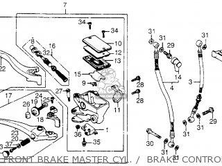 Honda Vf1100c V65 Magna 1983 (d) Usa parts list