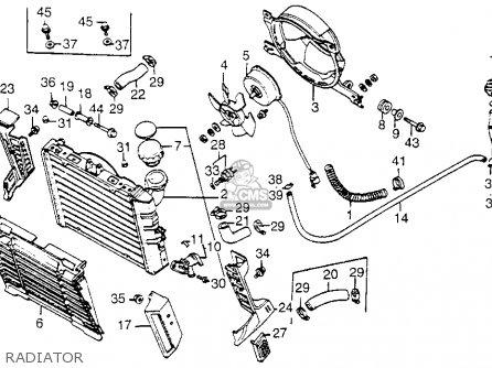 Honda Vf1100c V65 Magna 1984 (e) Usa parts list