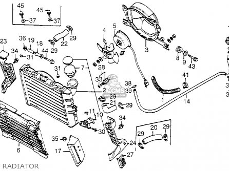 Honda Vf1100c V65 Magna 1985 (f) Usa parts list