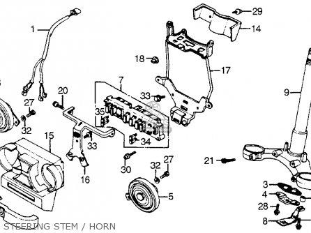 Honda VF1100S SABRE 1984 (E) USA CALIFORNIA parts lists