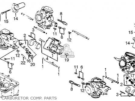 Honda VF1100S SABRE 1985 (F) USA CALIFORNIA parts lists