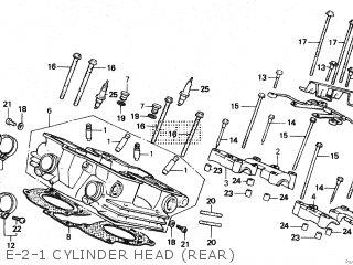 Honda VF500C MAGNA 1984 (E) parts lists and schematics
