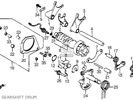 1964 Ford Falcon Bedradings Schema Instrument