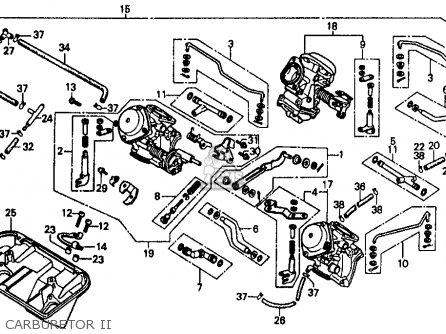 Honda intercepter 500 wireing diagram