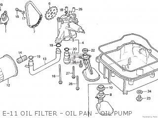 Honda VF500F INTERCEPTOR 1984 (E) parts lists and schematics