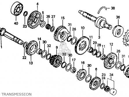 Honda Vf500f Interceptor 1985 (f) California parts list