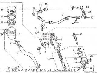 Honda VF500F INTERCEPTOR 1986 (G) parts lists and schematics
