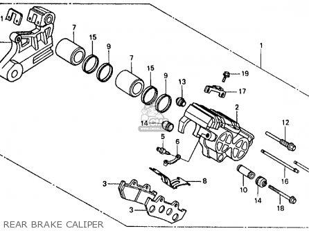 Honda VF500F INTERCEPTOR 1986 (G) USA CALIFORNIA parts