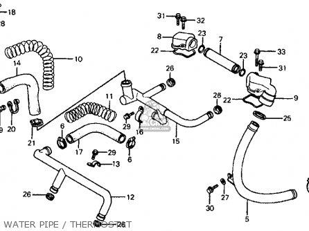 Honda Vf700c Magna 1984 (e) Usa California parts list