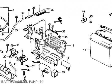 Honda Vf700c Magna 1984 Usa parts list partsmanual partsfiche