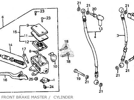 Honda Vf700c Magna 1985 (f) Usa California parts list