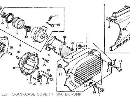 1980 Honda Xr500 Wiring Diagram 1980 Honda XL500S Wiring